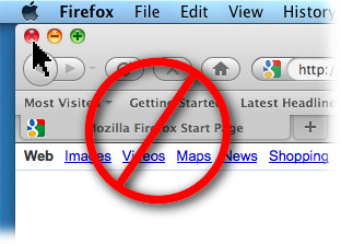 Close Firefox Window Wrong